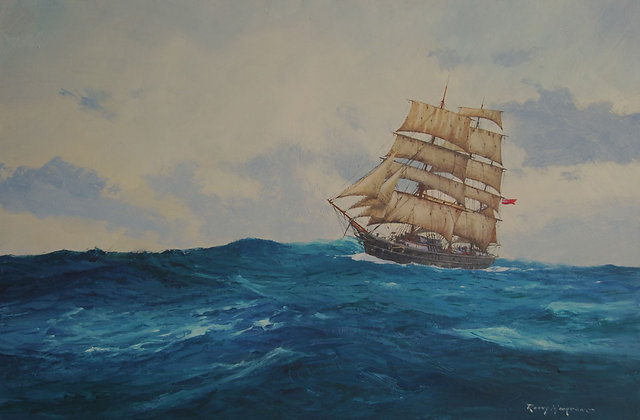 RONNY MOORTGAT | Somewhere on the Ocean