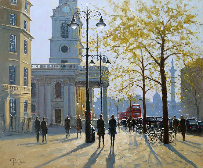 Spring, St Martin-in-the-Fields, London