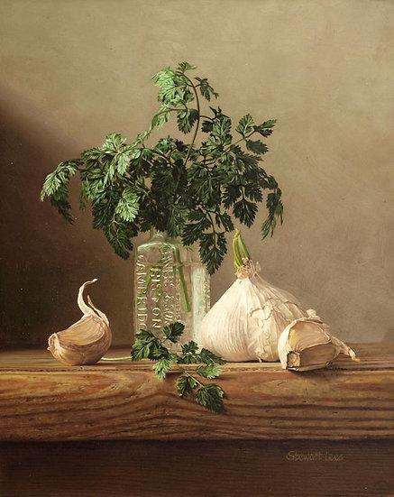 Chervil and Garlic