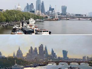 London through the eyes of an artist: Peter van Breda