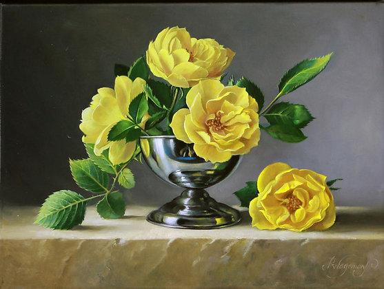 PIETER WAGEMANS | Yellow Roses