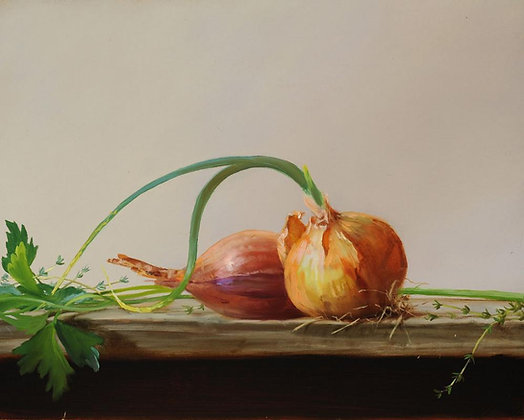 PAUL BROWN | Onions and Herbs