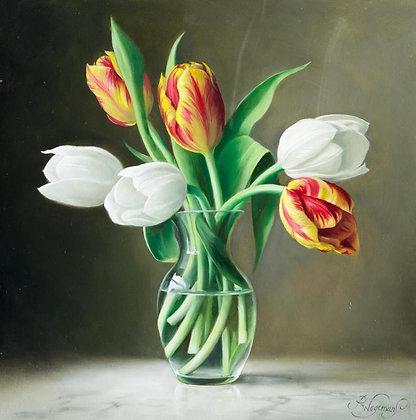 PIETER WAGEMANS   Tulips