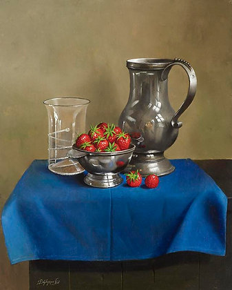 WILLEM DOLPHYN | Silver Strawberries