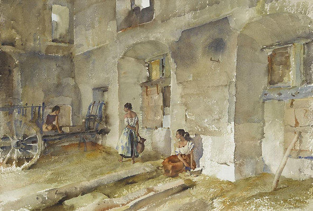 SIR WILLIAM RUSSELL FLINT | Interior at Auticamp