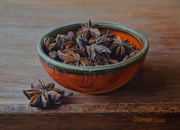 STEWART LEES | Star Anise in a Bowl