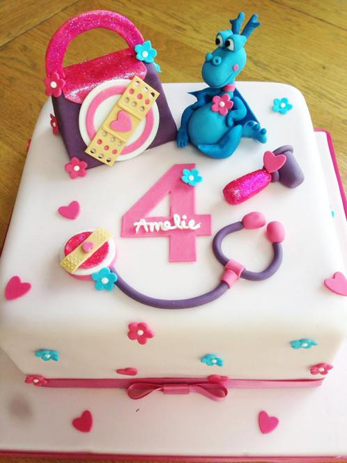 Amelies Doc Mcstuffin Birthday Cake