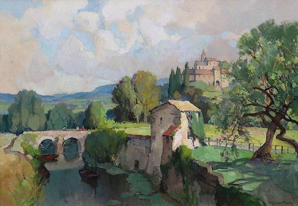 GEORGES CHARLES ROBIN | En Provence près de Vaison-la-Romaine