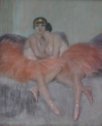 PIERRE CARRIER-BELLEUSE | Resting Ballerinas