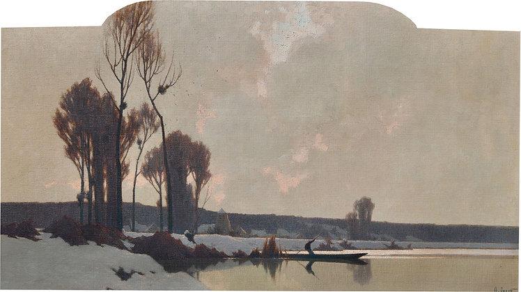 ALEXANDRE LOUIS JACOB | Neige en Seine et Marne