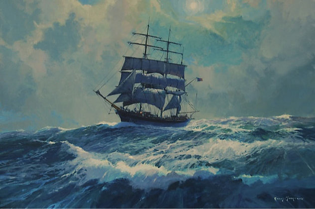RONNY MOORTGAT | Moonlight Serenade (the American barque Elisa)