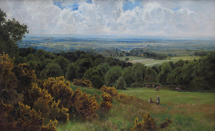 JOHN CLAYTON ADAMS | View from Leith Hill Surrey