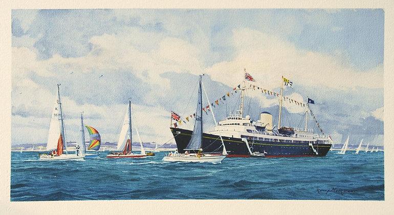 RONNY MOORTGAT | Royal Yacht at Cowes Week