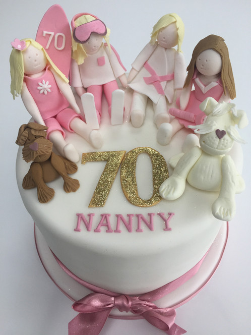 Carols 70th Birthday Cake