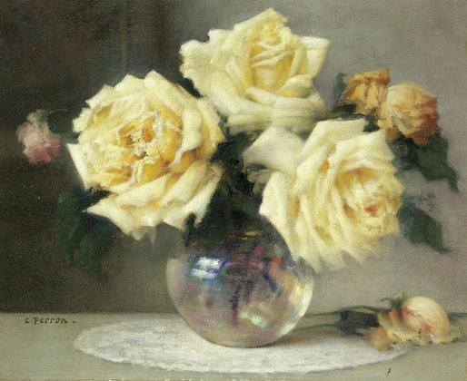 CHARLES PERRON | Yellow Roses