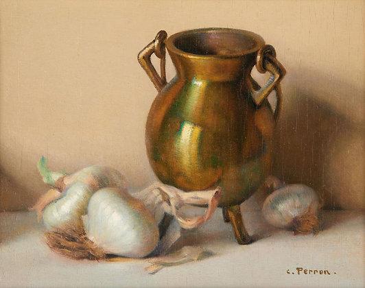 CHARLES PERRON | Cuivre et Oignons