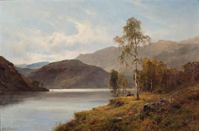 ALFRED DE BREANSKI   Loch Katrine