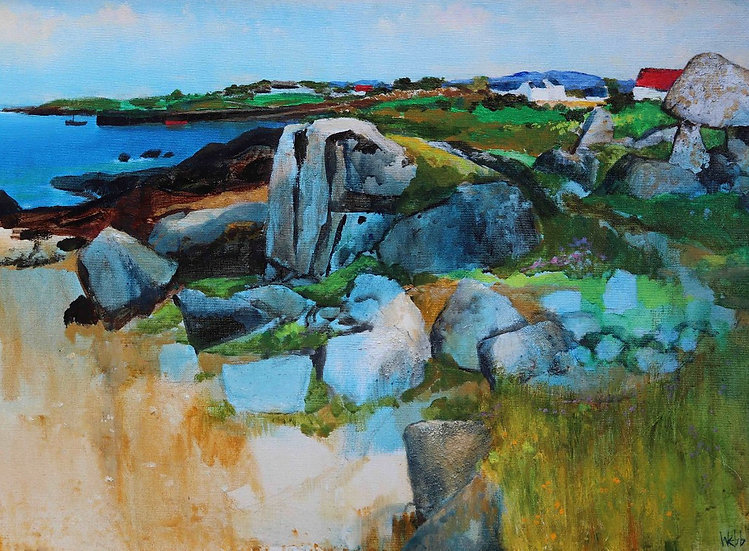 The Ancient Rocks of Roundstone Bay by Kenneth Webb