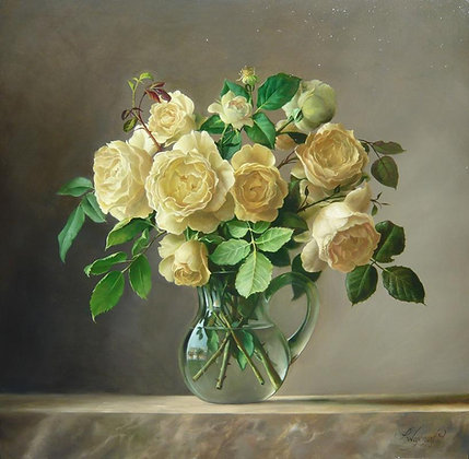 PIETER WAGEMANS | Yellow Roses