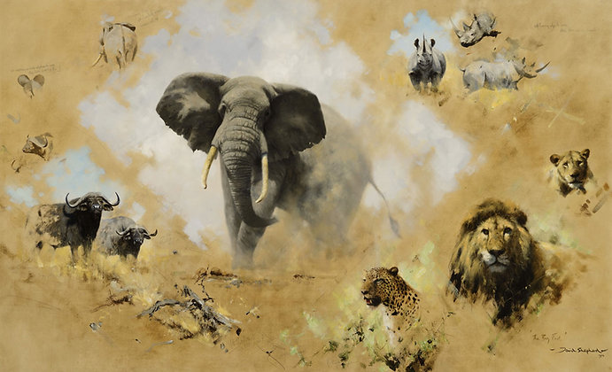 DAVID SHEPHERD | The Big Five, Painted in 1970