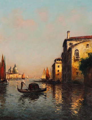 AUGUSTE BOUVARD | A Gentle Back Canal