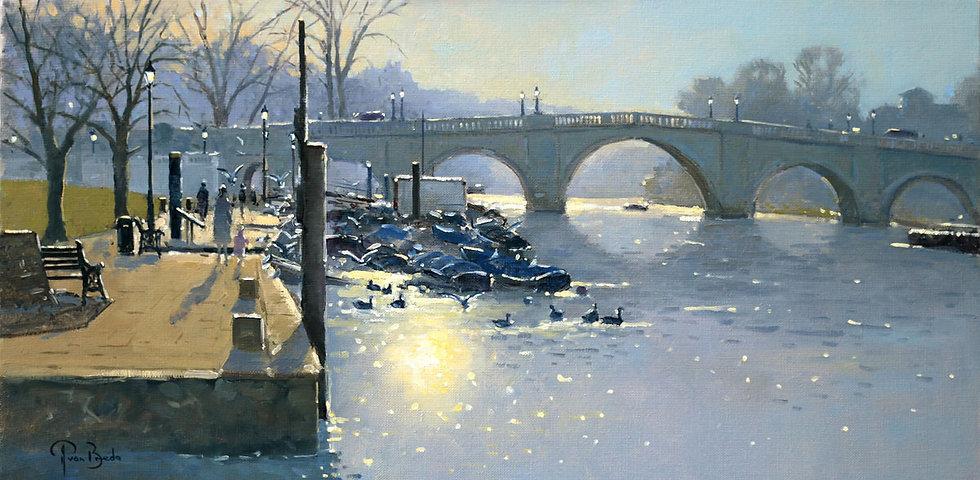 Early Morning at Richmond Bridge