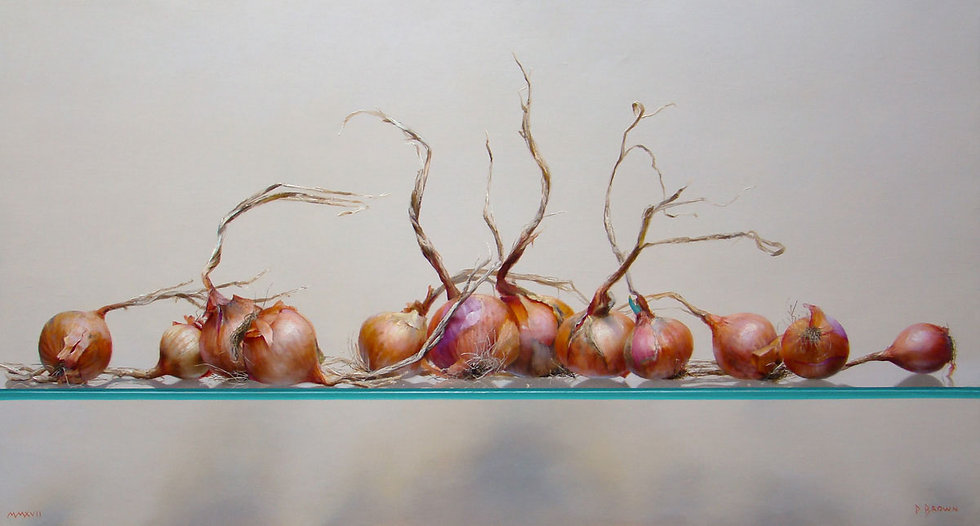 Onions on Glass