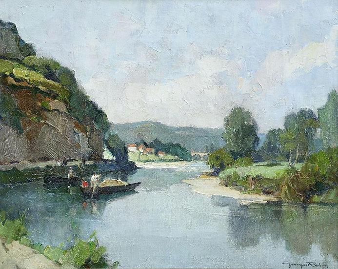 Sur La Dordogne