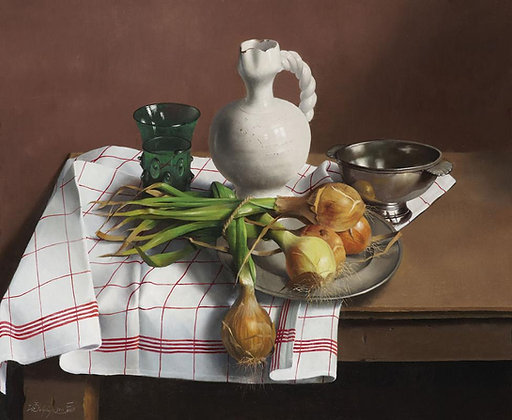 WILLEM DOLPHYN | Onions from the Kitchen Garden