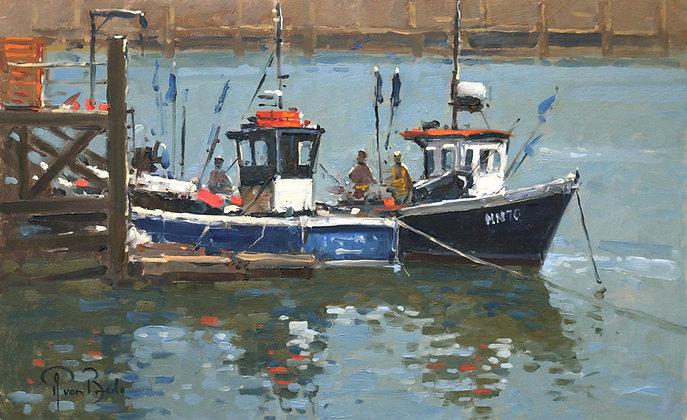 PETER VAN BREDA | Lobster Fishermen, Newhaven