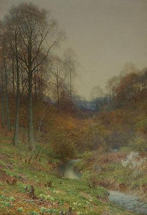 HAROLD SUTTON PALMER | Evening on the Moor