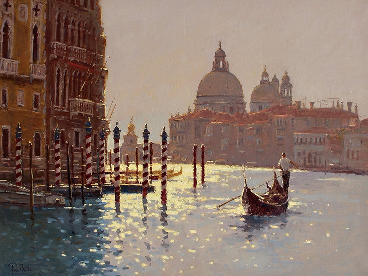 Gondola at First Light