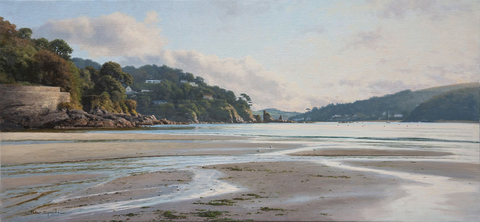 Dawn at South Sands, Salcome, Devon