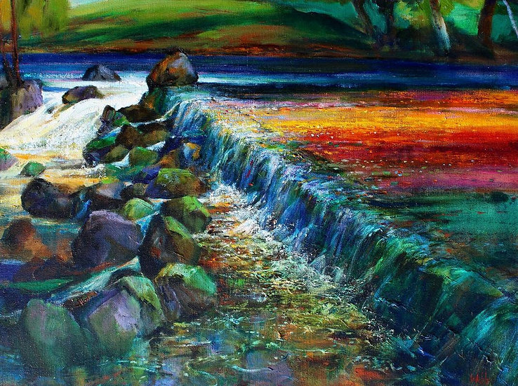 Salmon Leap; Autumn
