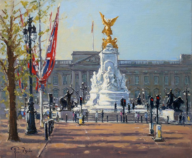 Morning Light, Buckingham Palace, London