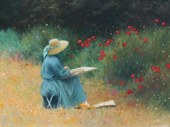 ALLAN MYNDZAK | The Poppy Painter