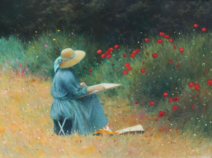 The Poppy Painter