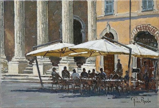 PETER VAN BREDA | Piazza del Comune, Assisi, Italy