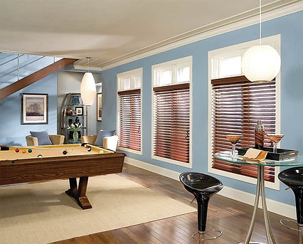 Horizontal Blinds, Custom Window Treatments in Vallejo & Napa, California (CA) with Motorized Options in Homes