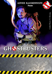 affiche-spectacle Ghostbusters Astier.jp