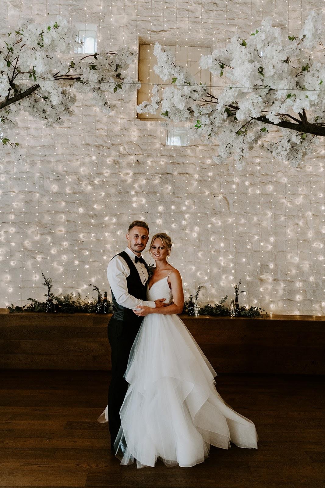 Tom and Hannah Wedding - The Light Paint