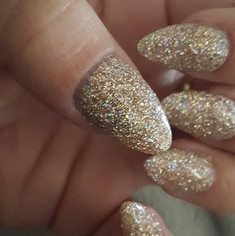 #longslickpour #powdernails awesome look