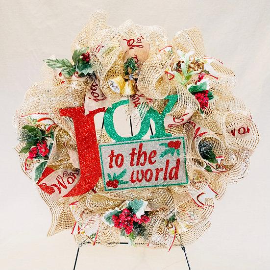 Joy to the World - Wreath