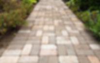 Hardscape walkway