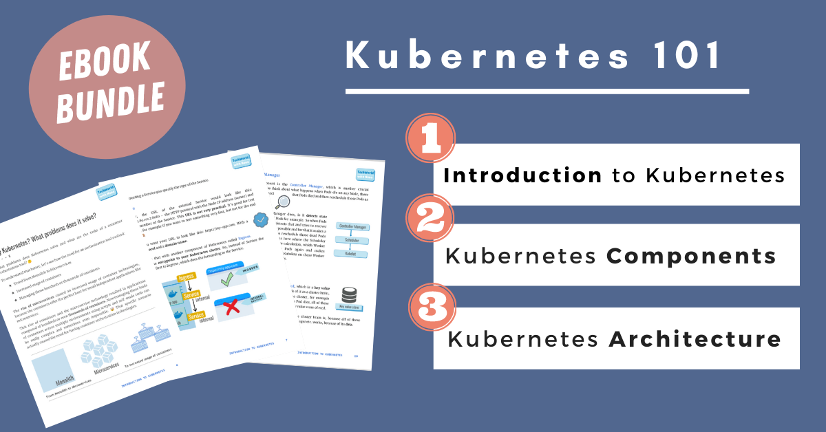 Kubernetes 101 - handy ebook bundle with visuals ⭐️