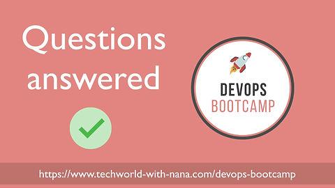 DevOps Bootcamp Q&A