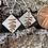 Thumbnail: Earrings Botanics Drop Silver Copper Earrings F&W