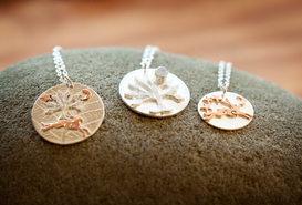 Silver Copper Pendants
