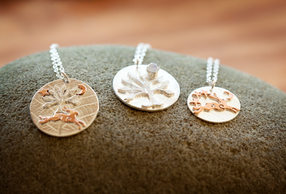 Silver Copper Pendants