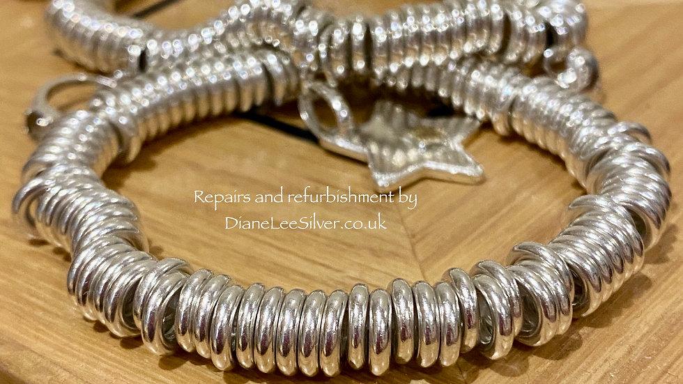 Repair service for Elastic (links type) Bracelets